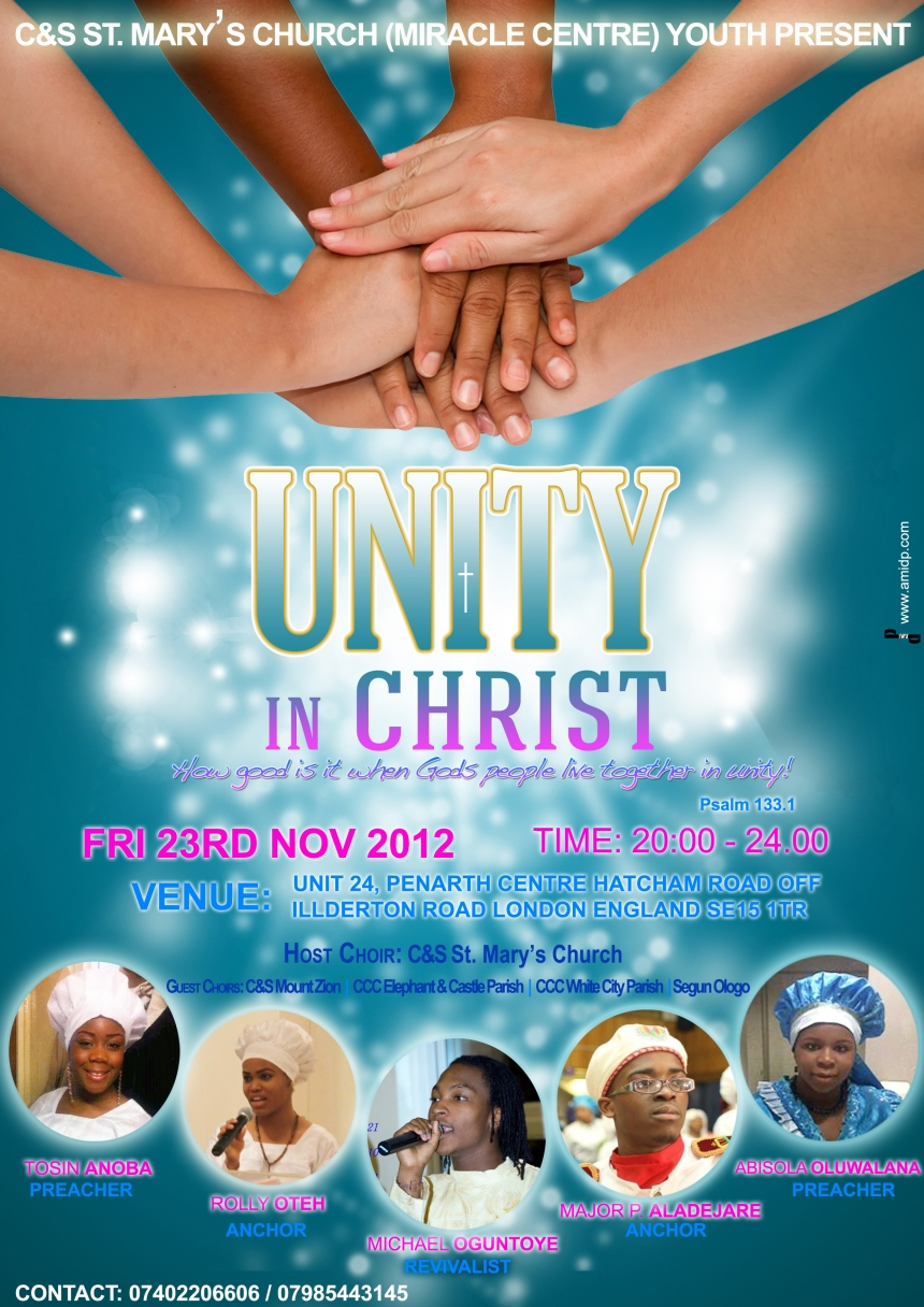 Poster design for youth - Here Is A Recent Poster I Designed This Poster Was Designed For A Church Event At C S St Mary S Church Miracle Centre London